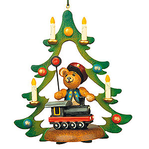 Christbaumschmuck Spielzeug-Design Christbaumschmuck Teddy-Schaffner - 9 cm