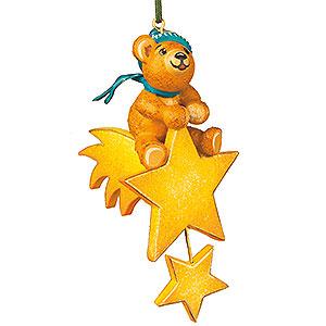Christbaumschmuck Spielzeug-Design Christbaumschmuck Teddy-Sternenreiter - 7 cm