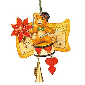 Christbaumschmuck Spielzeug-Design Christbaumschmuck Teddy -Trommler - 7cm