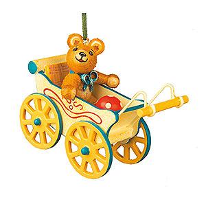 Christbaumschmuck Spielzeug-Design Christbaumschmuck Teddyfahrt - 5cm