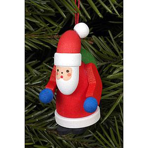 Christbaumschmuck Weihnachtsmann Christbaumschmuck Weihnachtsmann - 2,5 x 5,0 cm