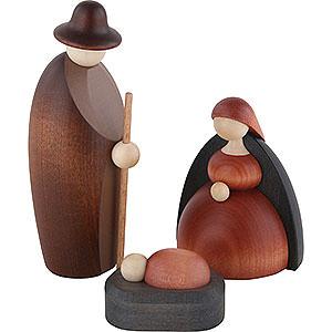 Kleine Figuren & Miniaturen Björn Köhler Krippe klein Christi Geburt, 3-teilig - 12 cm