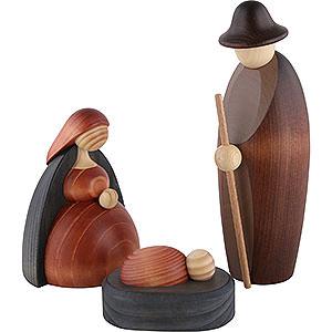 Kleine Figuren & Miniaturen Björn Köhler Krippe groß Christi Geburt, 3-teilig - 17cm
