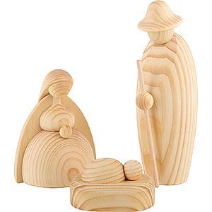 Kleine Figuren & Miniaturen Björn Köhler Krippe groß natur Christi Geburt, 3-teilig, natur - 17cm