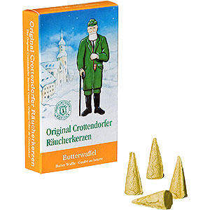 Smokers Incense Cones etc. Crottendorfer Incense cones - Butter Waffle