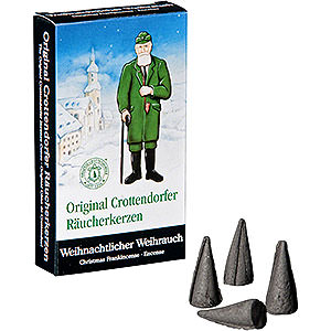 Smokers Incense Cones etc. Crottendorfer Incense cones - Christmas Frankincense