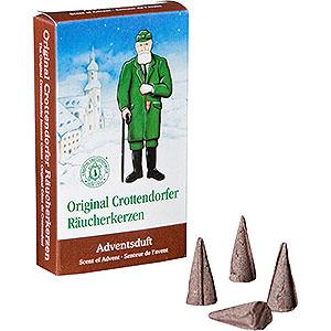Smokers Incense Cones etc. Crottendorfer Incense cones - Scent of Advent