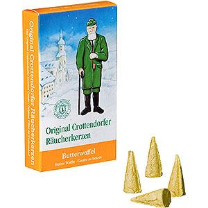 Räuchermänner Räucherkerzen Crottendorfer Räucherkerzen - Butterwaffel