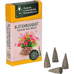 R�ucherm�nner R�ucherkerzen & Zubeh�r Crottendorfer R�ucherkerzen - Flowers and Fruits - Bl�tenbouquet