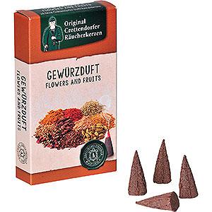 Räuchermänner Räucherkerzen & Zubehör Crottendorfer Räucherkerzen - Flowers and Fruits - Gewürzduft