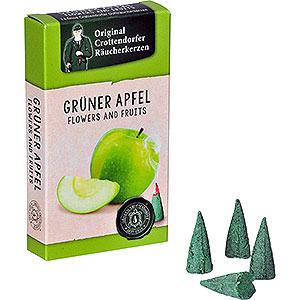 Räuchermänner Räucherkerzen & Zubehör Crottendorfer Räucherkerzen - Flowers and Fruits - Grüner Apfel
