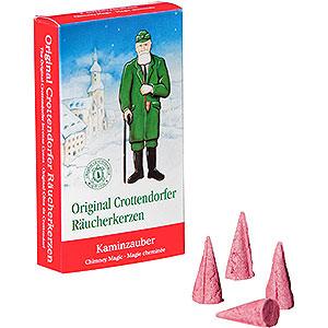 Räuchermänner Räucherkerzen & Zubehör Crottendorfer Räucherkerzen - Kaminzauber
