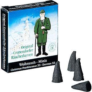 Räuchermänner Räucherkerzen & Zubehör Crottendorfer Räucherkerzen - Weihnachtlicher Weihrauch - Minis