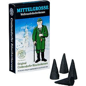 Räuchermänner Räucherkerzen & Zubehör Crottendorfer Räucherkerzen - Weihnachtlicher Weihrauch - mittelgroß