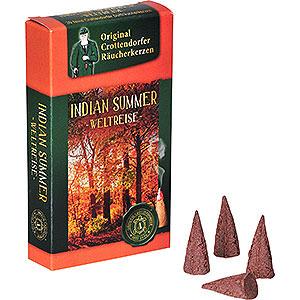 Räuchermänner Räucherkerzen Crottendorfer Räucherkerzen - Weltreise - Indian Summer