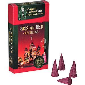 Räuchermänner Räucherkerzen & Zubehör Crottendorfer Räucherkerzen - Weltreise - Russian Red