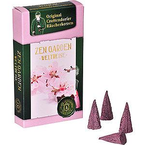 Räuchermänner Räucherkerzen & Zubehör Crottendorfer Räucherkerzen - Weltreise - Zen Garden