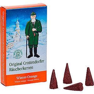 R�ucherm�nner R�ucherkerzen & Zubeh�r Crottendorfer R�ucherkerzen - Winter-Orange