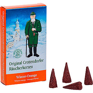 Räuchermänner Räucherkerzen & Zubehör Crottendorfer Räucherkerzen - Winter-Orange