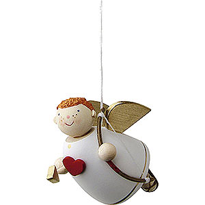 Angels Reichel Amor Cupid Floating - 3,5 cm / 1.3 inch