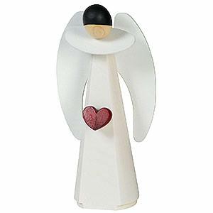 Weihnachtsengel Sonstige Engel Dekofigur Engel mit Herz - 11 cm