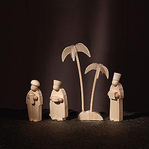 Kleine Figuren & Miniaturen Günter Reichel Krippe Die Könige - 8 cm