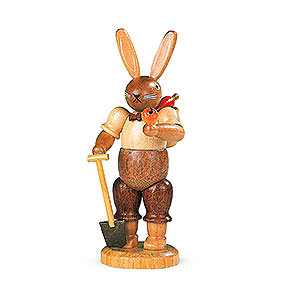 Small Figures & Ornaments Animals Rabbits Easter bunny Gardener - 11 cm / 4 inch