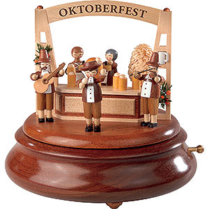 Spieldosen Alle Spieldosen Elektronische Spieldose - Oktoberfest - 19cm