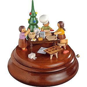 Spieldosen Alle Spieldosen Elektronische Spieldose - Weihnachtsbäckerei - Rolf Zuckowski Edition - 19cm