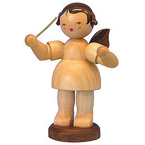 Weihnachtsengel Engel - natur - groß Engel Dirigent - natur - stehend - 9,5 cm