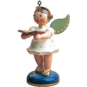 Weihnachtsengel Engel - wei� Engel Gesangbuch - 16cm
