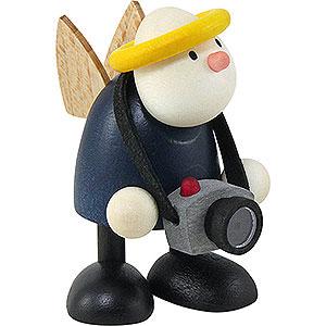 Kleine Figuren & Miniaturen Hans & Lotte (Hobler) Engel Hans mit Fotoapparat - 7 cm