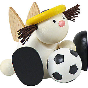 Kleine Figuren & Miniaturen Hans & Lotte (Hobler) Engel Lotte mit Fußball - 7 cm