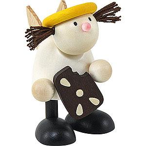 Kleine Figuren & Miniaturen Hans & Lotte (Hobler) Engel Lotte mit Pfefferkuchen   - 7cm