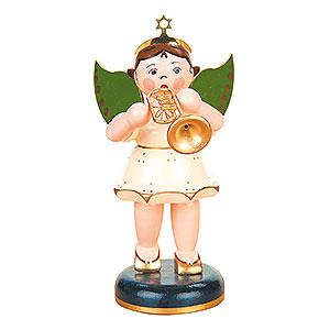 Weihnachtsengel Engel - weiß Engel Trompete - 16 cm