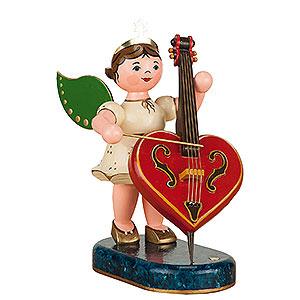 Weihnachtsengel Orchester (Hubrig) Engel der Herzen limitiert - 16 cm