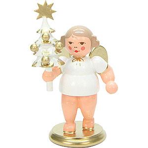 Weihnachtsengel Sonstige Engel Engel mit Baum - 7,5cm