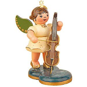 Weihnachtsengel Orchester (Hubrig) Engel mit Cello - 6,5cm