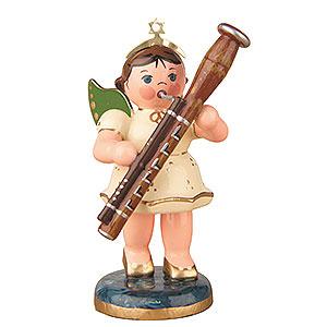 Weihnachtsengel Orchester (Hubrig) Engel mit Fagott - 6,5 cm