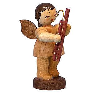 Weihnachtsengel Engel - natur - klein Engel mit Fagott - natur - stehend - 6cm