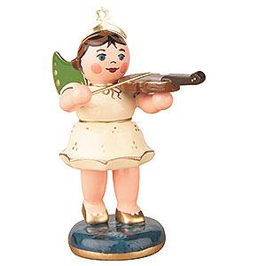 Weihnachtsengel Orchester (Hubrig) Engel mit Geige - 6,5 cm