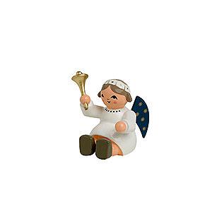 Weihnachtsengel Sonstige Engel Engel mit Glocke, sitzend - 4cm