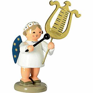 Weihnachtsengel Engelsorchester (KWO) Engel mit Glockenspiellyra - 5cm