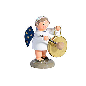 Weihnachtsengel Engelsorchester (KWO) Engel mit Gong - 5cm