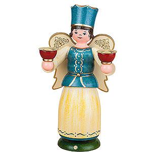 Weihnachtsengel Engel und Bergmann Engel mit Kerzen - 22cm