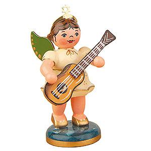 Weihnachtsengel Orchester (Hubrig) Engel mit Konzertgitarre - 6,5cm