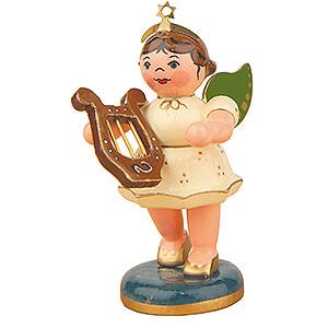Weihnachtsengel Orchester (Hubrig) Engel mit Leier - 6,5cm