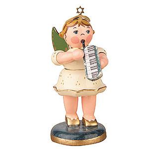 Weihnachtsengel Orchester (Hubrig) Engel mit Melodika - 6,5cm