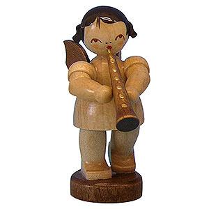 Weihnachtsengel Engel - natur - klein Engel mit Oboe - natur - stehend - 6cm