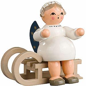 Weihnachtsengel Sonstige Engel Engel mit Schlitten - 5 cm